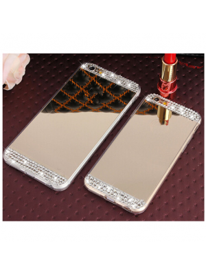iPhone 6s 7 Luxury glitter Bling Mirror Cases For iPhone 6 6s 6 plus 7 7 plus diamond TPU Phone Case cover