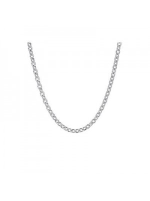 Lady Fashion Liquid Silver Chain with clasp 925 Sterling Silver Necklace