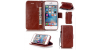iPhone 7/7 Plus Plus PU Leather Wallet Case Cover with String For iPhone 5c 5 5s 6 6s 6/6s plus 7 Plus Card Holder Stand Filp Cover