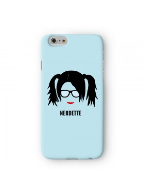 Nerdette Full Wrap 3D Printed Case for Apple iPhone 6 6S Plus by Chargrilled