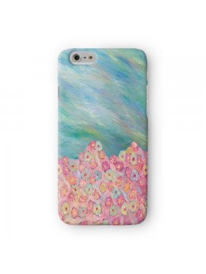 Abstract Pattern Painting 008 Full Wrap 3D Printed Case for Apple iPhone 6 6S Plus by Helen Joynson