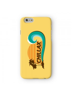 Sassy Chillax #10042 Full Wrap 3D Printed Case for Apple iPhone 6 6S Plus by Sassy Slang