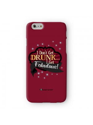 Sassy I don't Get Drunk #10825 Full Wrap 3D Printed Case for Apple iPhone 6 6S Plus by Sassy Slang