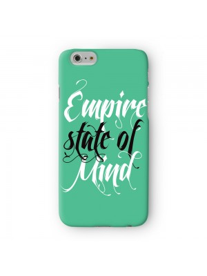 Empire State of Mind Full Wrap High Quality 3D Printed Case for Apple iPhone 6 6S Plus by textGuy