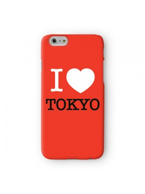 I Love Tokyo 01 Full Wrap High Quality 3D Printed Case for Apple iPhone 6 6S Plus by textGuy