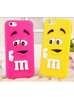 3D M&M iPhone 7/7 Plus Cases For iPhone 7/7 Plus plus 3D Cartoon Character Phone Cases