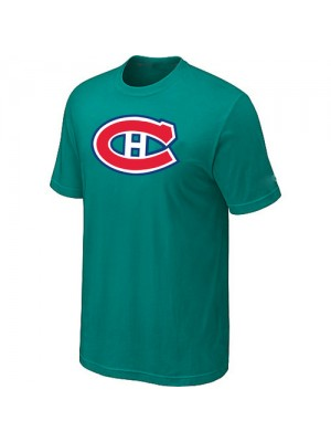 Montreal Canadiens Mens Team Logo Short Sleeve T-Shirt - Green
