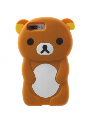 Cute 3D Bear Case Cover For iPhone 7/7 Plus 7 plus 6s 6 plus 5 5S SE 5c 4S touch 5/6 cases Silicone Phone Case