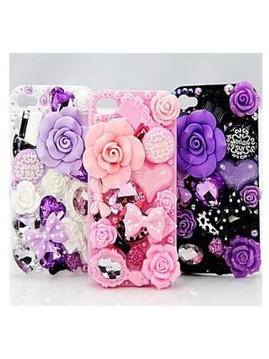 iPhone 6 6s 7 Plus Rose Crystal Diamond Cases for iPhone 7/7 Plus plus