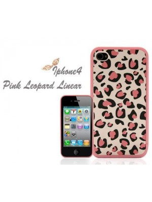 Xmas Gift Elegant Pink Leopard Case Cover for iPhone 5/5s/5c/6/6S/7 Plus (iPhone 7/7 Plus Plus cheetah cases)